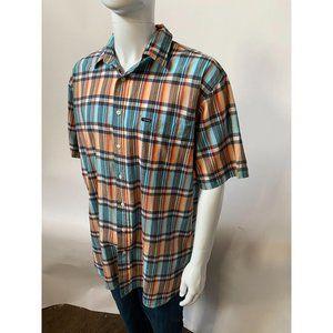 Daniel Cremieux Madras Short Sleeve Shirt
